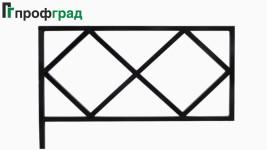Ограда ритуальная - артикул 002
